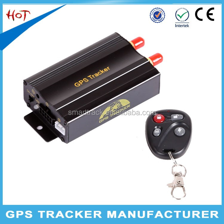 Malaysia Thailand hot sale remotely shutdown vehicle Car GPS Tracker TK103B with google maps tracking