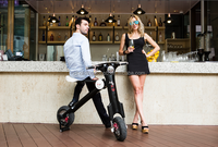 ET scooter 350W 45km/h brushless motor ET magnetic bike