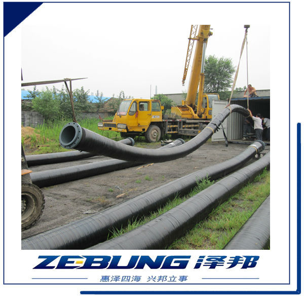 Light Weight Flexible Fabric Reinforcement Slurry or Mud Suction And Discharge Rubber Hose