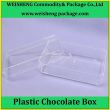 Large Supply Glisten Clear color PS Plastic Chocolate Box
