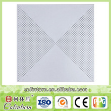 600x600mm cheap perforated aluminum ceiling wall board /decorative wall panel
