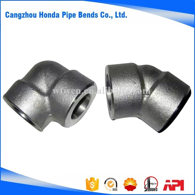 Cangzhou socket weld threaded union/outlet/cap/elbow/tee fitting