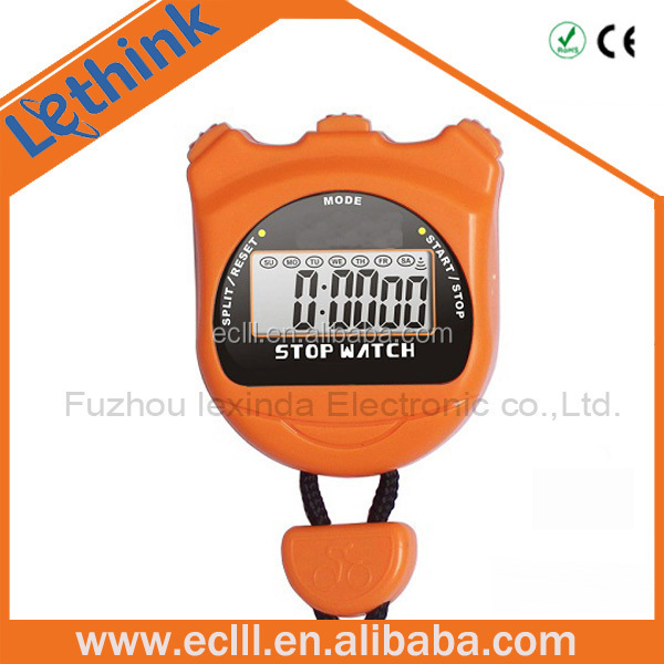 Promotion gift Popular sports stopwatch with time display
