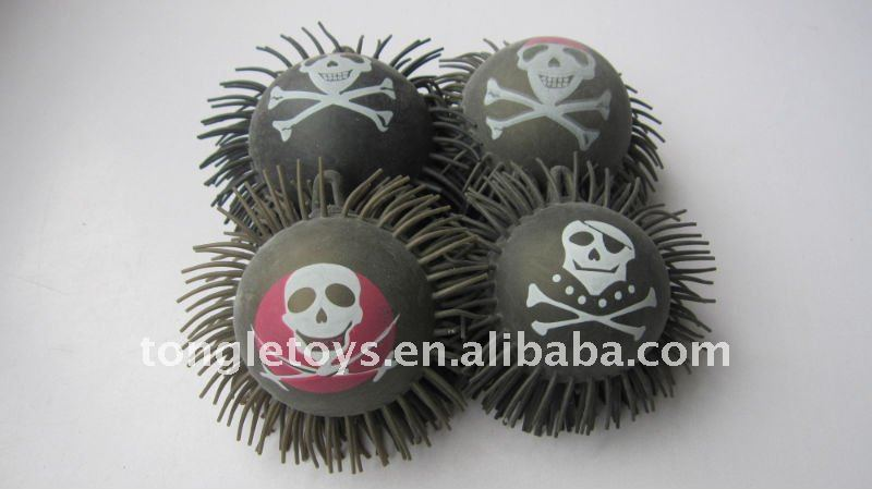 5inch printing puffer ball for Hallowmas