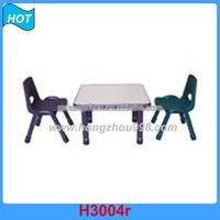 Educational Study Table and Chair for Kids School Furniture for Kindergarten