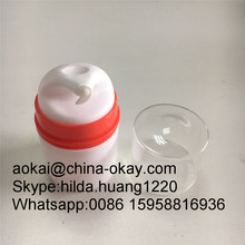 Empty plastic cosmetic bottle packaging,30ml airless lotion bottle,airless serum bottle