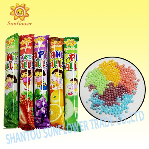 Mix Fruit Popping Candy Balls
