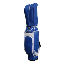 9 Inch Blue PU Golf Bag