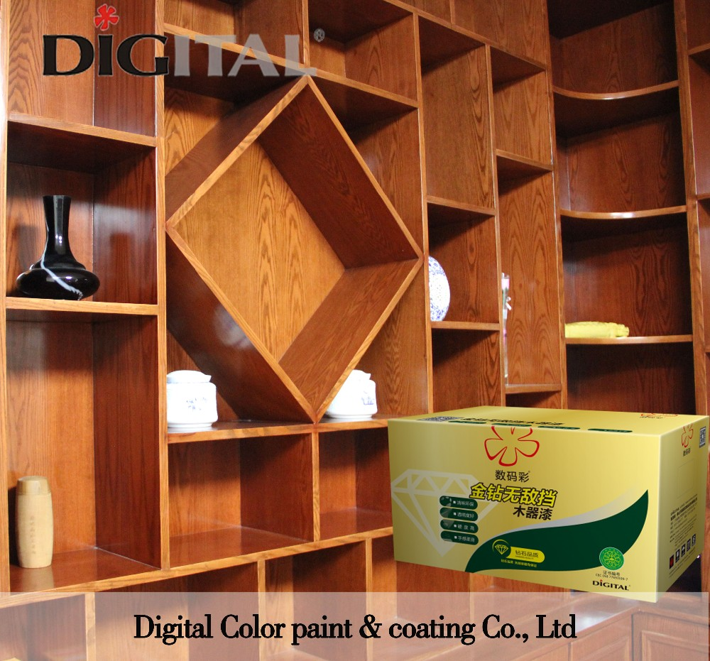 Lambency good transparency and hardness invincible finish wood deco paint furniture