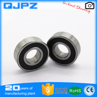 Electric motor bearing 6008 2RS deep groove ball bearing