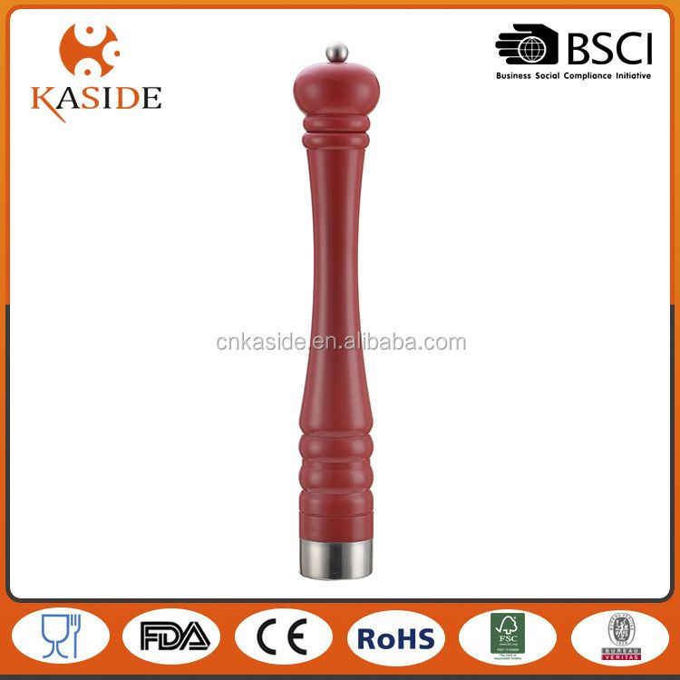 Best selling OEM design manual malt & pepper mill directly sale