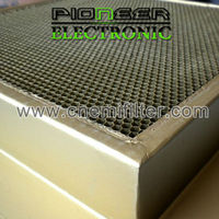 steel Honeycomb filter 600x900mm, EMC chamber gas 3d honeycomb
