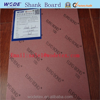 Shank board of shoe insole reinforce insole and shank boards