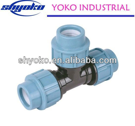2014 China high quality PP coupling fittings Pipe Fittings hose shut-off coupling