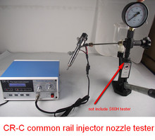 CR-C common rail injector nozzle tester repair tools, can test electromagnetic injectors