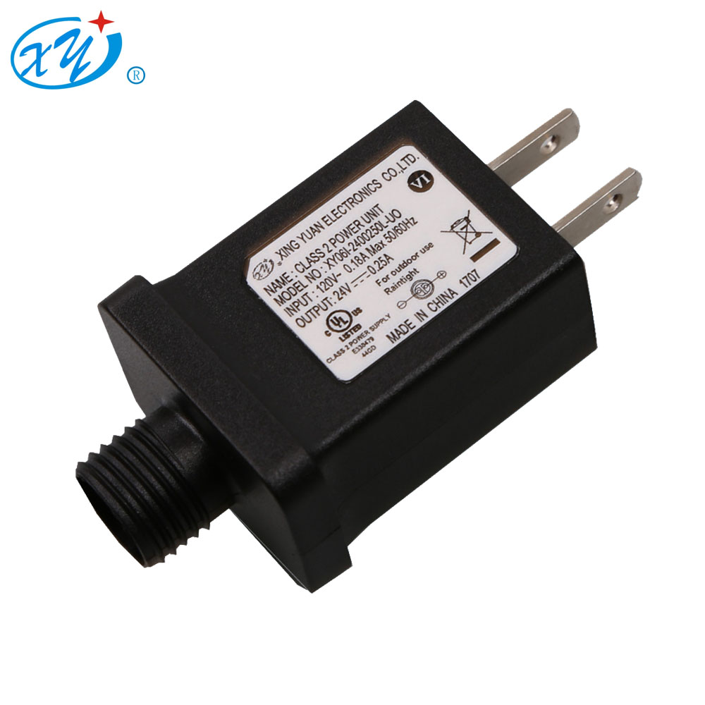 1W~9W ip44AC/DC Switching power supply universal travel christmas trees adapter with ETL certifiation