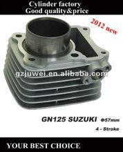 High quality 57MM SUZUKI GN125 motorcycle cylinder for sale