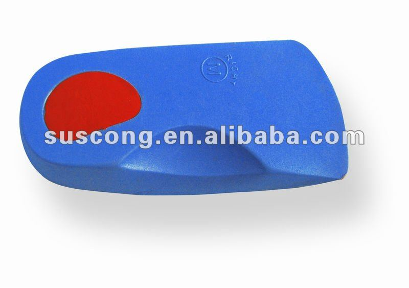 EVA insole 3/4 length foot orthotics arch support