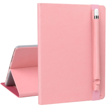 OEM ODM Manufacturer Slim Leather Folio Case for iPad Air with Pen Sleeve