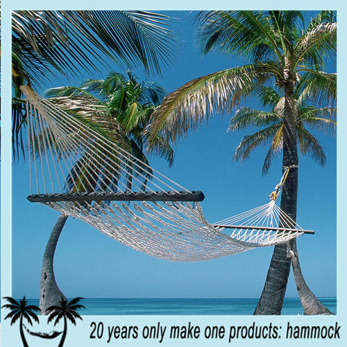 wholesale cotton make rope hammock