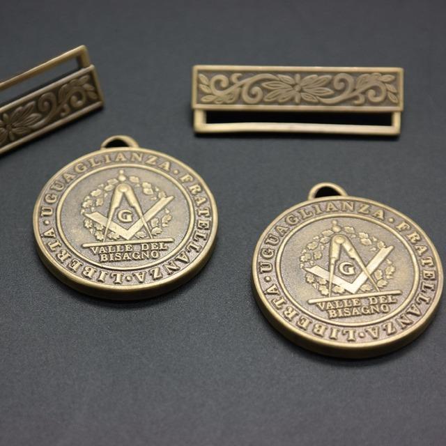 Masonic product Regalia jewel antique bronze masonic Medal