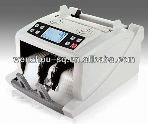 High Quality Automatic Money Counter Special for Singapore Dollar (Polymer and Paper Notes) Note Counting Machine