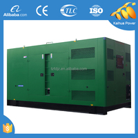CE approved water cooled 600KVA power genset powered by CUMMINS silent type
