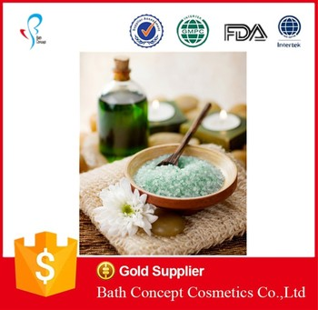 flower scent high quality crystal bath salt for wholesale