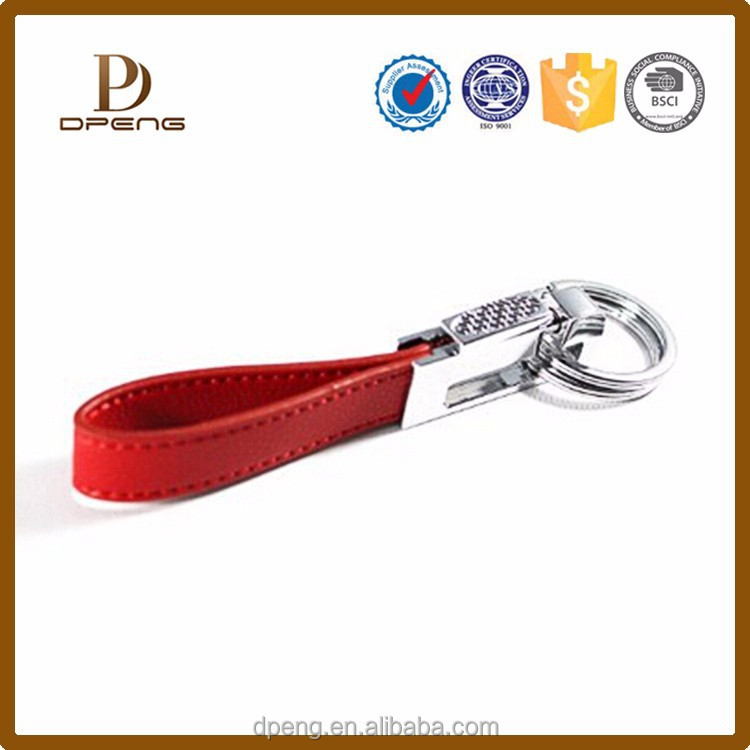 wholesale high quality birthday gifts for women keychain leather keychain