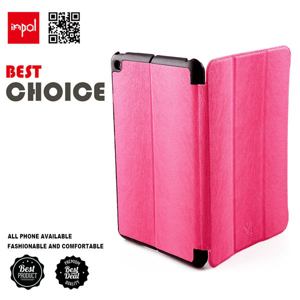 Wholesale pu leather case for ipad mini by shenzhen cell phone cases manufacturer