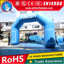 Customized inflatable finish line arch, chinese garden arch for sale