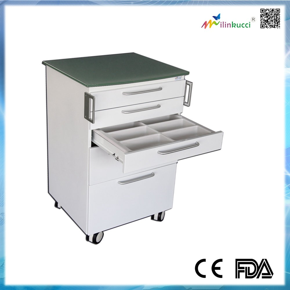 New design metal Mobile cabinet for dental clinic and hospital ML4614