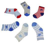 Custom Logo Bulk Organic Cotton baby socks wholesale Unisex baby sock