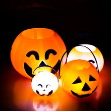 Halloween Decoration Plastic Pumpkin light