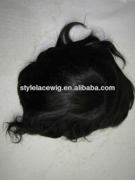 Hot sales indian remy hair wigs for men