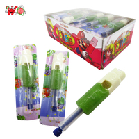 Different flavour sweet lollipop music whistle candy from Wangqing
