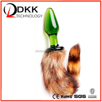 XM013 New arrival sex toy silicone ass popular JAPAN,mini ass toy with dog tail