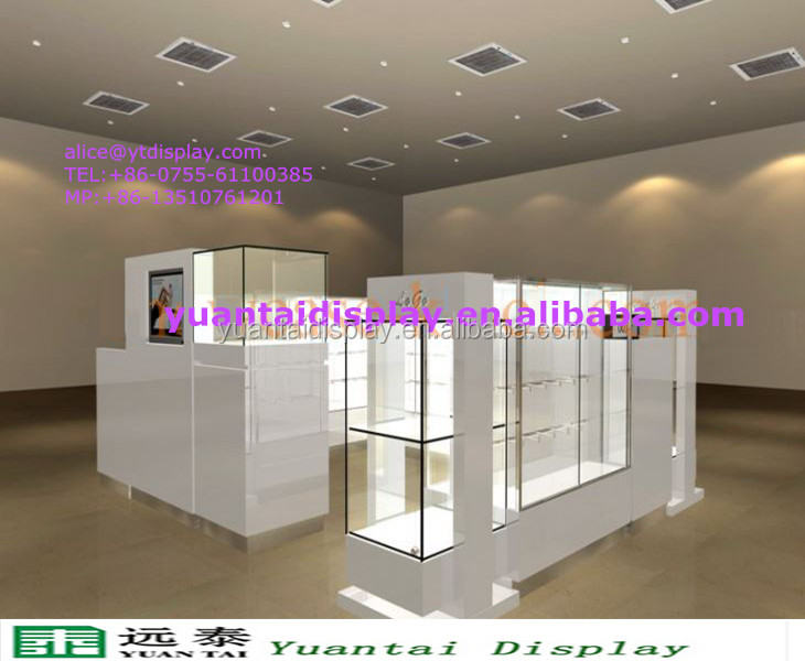 shenzhen furniture 3d rendering jewelry kiosk image