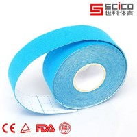 2.5cm*5m outdoor sport strong adhesive kinesiology tape with CE,FDA, ISO certification