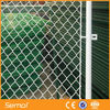 Galvanized square wire mesh chain link fence for sale