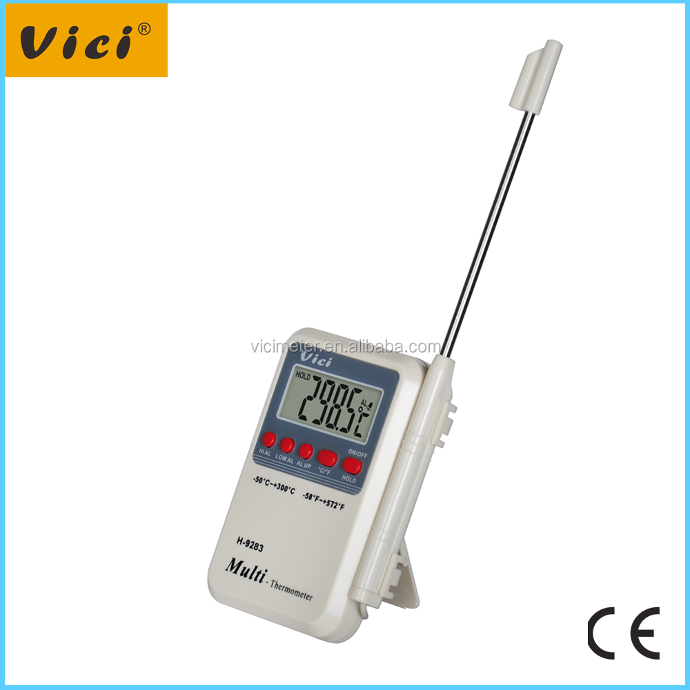 H-9283 -50 -300C Degree Range hot sell Commercial Waterproof Digital Thermometer