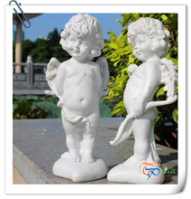 Popular cute angel statue wholesale for desk decoration gifts