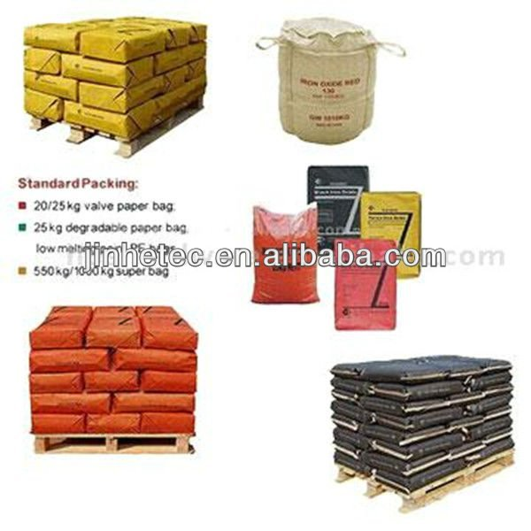 Hot Sale Chemical Pigment Raw Materials Iron Oxide / Anti-rust Paint Iron Oxide Yellow, Red, Green, Blue, Black pigment