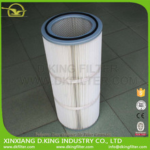 2016 High Performance Wholesale air filter manufacturer with Polyester Dust Collector Air Filter