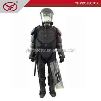 police anti riot suit/body armor