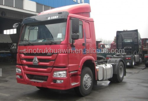 371 hp 4*2 sino tractor head truck for sale