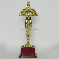 Buy plastic and metal oscar trophy