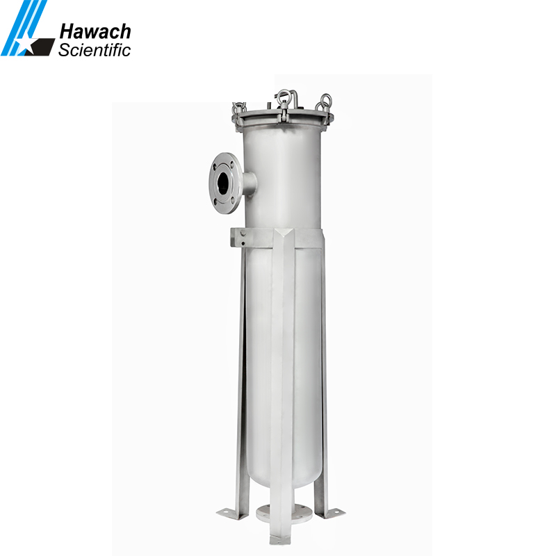 Industrial Bag Filtration Systems with 5 filter bag and filter housing for food and beverage