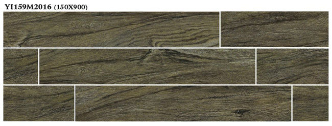 3D wood effect wall tile wall panel