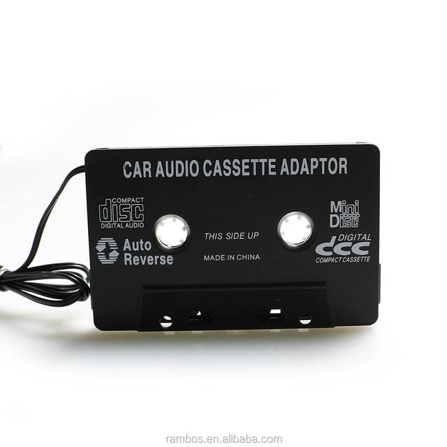 Audio Earphone Car Cassette Tape Adapter 3.5mm Car Stereo Cassette Tape Adapter for iPhone for iPod CD Player